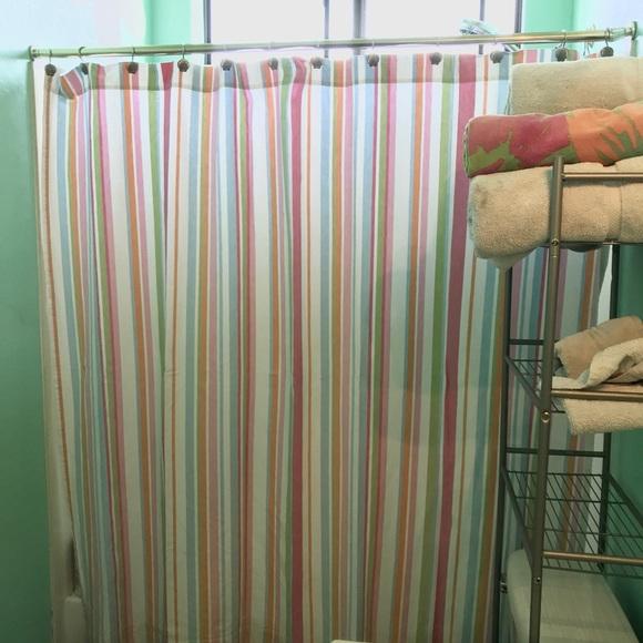 Pottery Barn Teen Bath Fabric Shower Curtain Poshmark